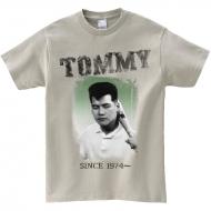 Tommy Tシャツ シルバーグレー M