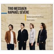 メシアン:世の終わりのための四重奏曲、アデス:『テンペスト』よりコート・スタディーズ ラヴァエル・セヴェール、トリオ・メシアン