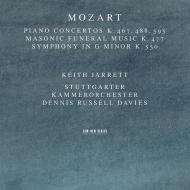 Piano Concerto, 21, 23, 27, Sym, 40, : Keith Jarrett(P)D.r.davies / Stuttgart Co