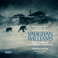 交響曲第7番『南極交響曲』、第9番 アンドルー・マンゼ&ロイヤル・リヴァプール・フィル