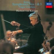 交響曲第1番、第3番、悲劇的序曲 ヘルベルト・フォン・カラヤン&ウィーン・フィル(シングルレイヤー)