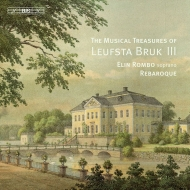 『レウヴスタ・ブリュークの音楽秘宝』第3集 イーリン・ロムブ、リバロック
