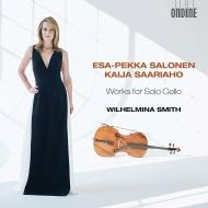 『無伴奏チェロのための作品集〜サーリアホ、サロネン』 ウィルヘルミナ・スミス