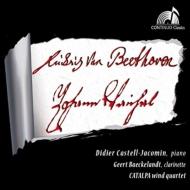Vanhal Clarinet Sonatas Nos.1, 3, Beethoven Piano Quintet : Baeckelandt(Cl)Castell-Jacomin(P)Catalpa Wind Quartet