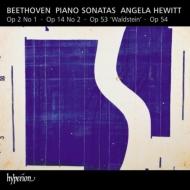 ピアノ・ソナタ第21番『ワルトシュタイン』、第22番、第10番、第1番 アンジェラ・ヒューイット(日本語解説付)
