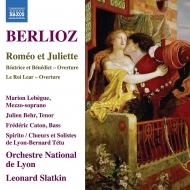 『ロメオとジュリエット』全曲、序曲『リア王』、他 レナード・スラトキン&リヨン国立管弦楽団、ジュリアン・ベーア、他(2CD)