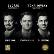 チャイコフスキー:偉大な芸術家の思い出に、ドヴォルザーク:ピアノ三重奏曲第3番 ルノー・カプソン、キアン・ソルターニ、ラハフ・シャニ