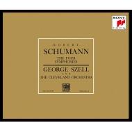 Schumann Complete Symphonies, etc, Mendelssohn Symphony No.4, Ein Sommernachtstraum(Selections)etc : George Szell / Cleveland Orchestra (3SACD)(Hybrid)