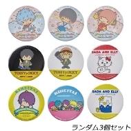 銀魂 ×Sanrio characters トレーディング缶バッジ3個セット [ランダム封入]
