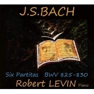 6つのパルティータ ロバート・レヴィン(ピアノ)(3CD)