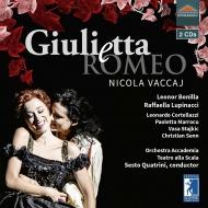 歌劇『ジュリエッタとロメーオ』全曲 クアトリーニ&スカラ座アカデミア管弦楽団、ボニッラ、ルピナッチ、他(2018 ステレオ)(2CD)