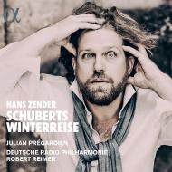 『冬の旅』〜ハンス・ツェンダーによる創造的編曲の試み ユリアン・プレガルディエン、ロベルト・ライマー&ドイツ放送フィル(日本語解説付)