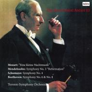 ベートーヴェン:交響曲第6番『田園』(ステレオ)、第8番、シューマン:交響曲第4番、メンデルスゾーン、モーツァルト カレル・アンチェル&トロント交響楽団(2CD)