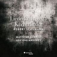 リーダークライス 作品24、12の詩 マティアス・ゲルネ、レイフ・オヴェ・アンスネス
