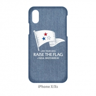 RAISE THE FLAG iPhoneケース/iPhone X/XS