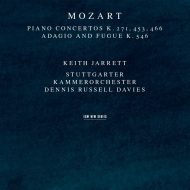ピアノ協奏曲第20番、第17番、第9番、他 キース・ジャレット、デニス・ラッセル・デイヴィス&シュトゥットガルト室内管弦楽団(2CD)