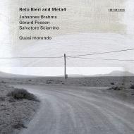 Quasi Morendo -Brahms Clarinet Quintet, Sciarrino, Pesson : Reto Bieri(Cl)META4 String Quartet