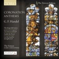 ジョージ2世の戴冠式アンセム第1〜4番、他 ハリー・クリストファーズ&ザ・シックスティーン(限定特価)