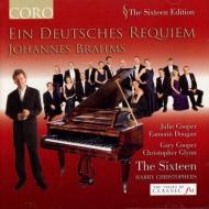 ドイツ・レクィエム(ピアノ伴奏版) ハリー・クリストファーズ&ザ・シックスティーン(限定特価)
