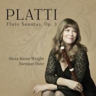 Flute Sonatas Op, 3, : Raine-wright(Fl)Paquette-roy(Vc)Nadler(Cemb)Bergeron(Lute)