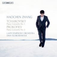 チャイコフスキー:ピアノ協奏曲第1番、プロコフィエフ:ピアノ協奏曲第2番 ハオチェン・チャン、ディーマ・スロボデニューク&ラハティ交響楽団