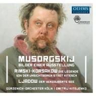 ムソルグスキー:展覧会の絵、リムスキー=コルサコフ:『キーテジ』組曲、他 ドミトリー・キタエンコ&ケルン・ギュルツェニヒ管弦楽団
