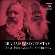 ブラームス:交響曲第4番、セーゲルスタム:交響曲第295番 レイフ・セーゲルスタム&トゥルク・フィル
