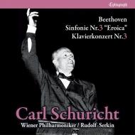 交響曲第3番『英雄』、ピアノ協奏曲第3番 カール・シューリヒト&ウィーン・フィル、ルドルフ・ゼルキン(1962)(2CD)
