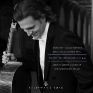 Cello Sonata: B.thornton(Vc)Spencer Myer(P)+brahms: Clarinet Trio: A.yusuf(Cl)