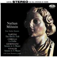 Four Italian Sonatas-tartini, Corelli, Geminiani, Vivaldi: Milstein(Vn)Pommers(P)