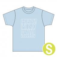Tシャツ ライトブルー Sサイズ / 日比谷音楽祭