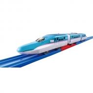 プラレール S 16 レールで速度チェンジ!! E5系 新幹線 はやぶさ