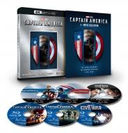 キャプテン・アメリカ:4K UHD 3ムービー・コレクション(数量限定)