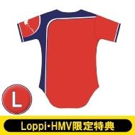 『HOKKAIDO be AMBITIOUS』レプリカユニフォーム 無地 (Lサイズ)【Loppi・HMV限定特典付】