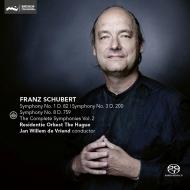 交響曲第8番『未完成』、第1番、第3番 ヤン・ヴィレム・デ・フリエンド&ハーグ・レジデンティ管弦楽団