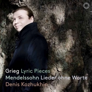 Grieg Lyric Pieces(Slct)Mendelssohn Lieder Ohne Worte(Slct): Denis Kozhukhin(P)(Hybrid)