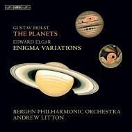 ホルスト:惑星、エルガー:エニグマ変奏曲 アンドルー・リットン&ベルゲン・フィル
