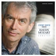 Haydn Piano Sonatas, Mozart Piano Sonatas Nos.4, 12 : Jerome Hantai(Fp)