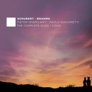ブラームス:ヴァイオリン・ソナタ第1番(原調によるチェロ版)、シューベルト:アルペジョーネ・ソナタ、他 ピーター・ウィスペルウェイ、ジャコメッティ(2CD)