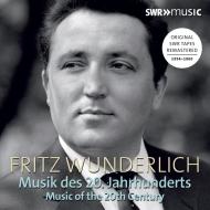 フリッツ・ヴンダーリヒ/20世紀の音楽集(3CD)