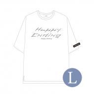Tシャツ WHITE(サイズL) / SEVENTEEN JAPAN 1ST SINGLE 'Happy Ending' SHOWCASE オフィシャルグッズ