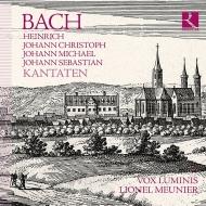 Cantatas -Heinrich, Johann Christoph, Johann Michael & J.S.Bach : Meunier / Vox Luminis