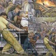 コープランド:交響曲第3番、チャベス:交響曲第2番『インディオ』 カルロス・ミゲル・プリエト&オーケストラ・オブ・ジ・アメリカズ