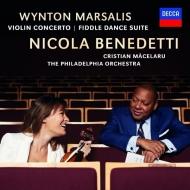 ウィントン・マルサリス:ヴァイオリン協奏曲、フィドル・ダンス組曲 ニコラ・ベネデッティ、クリスティアン・マチェラル&フィラデルフィア管弦楽団