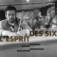 フランス6人組によるクラリネット作品集 ダヴィデ・バンディエーリ、ギヨーム・ハースベルガー
