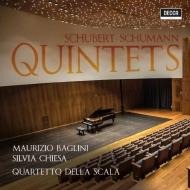 Schubert String Quintet, Schumann Piano Quintet : Baglini(P)S.Chiesa(Vc)Quartetto della Scala