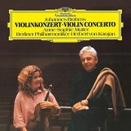 ヴァイオリン協奏曲 ムター(vn)カラヤン&ベルリン・フィル (アナログレコード)