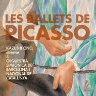 Kazushi Ono / Barcelona Symphony Orchestra : Falla El Sombrero de Tres Picos, Stravinsky Pulcinella Suite, Satie Parade, Milhaud (2CD)
