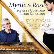 シューマン:リーダー・クライス Op.24&39、クララ・シューマン:歌曲集 カイル・ステガル、エリック・ジヴィアン