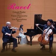 ヴァイオリン・ソナタ、ヴァイオリンとチェロのためのソナタ、ピアノ三重奏曲、ツィガーヌ、他 ジェラール・プーレ、丸山泰雄、川島余里